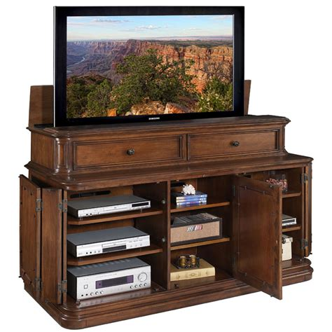 tv lift cabinet pacifica lift for 40 70 inch screens