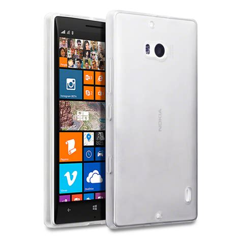 Softcase For Lumia 930 Premium Tpu Flexishield Free Sp terrapin clear tpu gel cover for nokia lumia 930 ebay