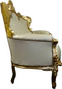 barock sofa garnitur barock sofa garnitur quot master quot creme gold lederoptik sofas