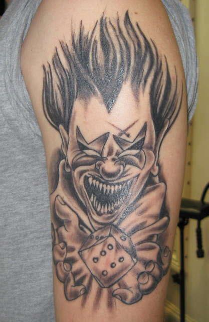 pin tattoo haram lilz eu de on pinterest evil clowns tattoo lilz eu tattoo de scary clown
