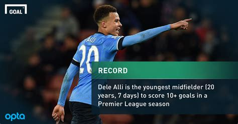 epl goal record alli sets new premier league record after scoring twice