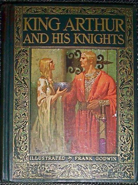 king arthur and his details about 1927 king arthur and his knights frank godwin e mercha