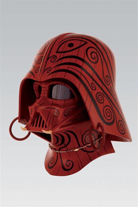 design darth vader helmet unusual darth vader helmets gadgetsin