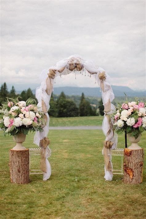 how to make a rustic wedding arch 1000 ideas about simple wedding arch on