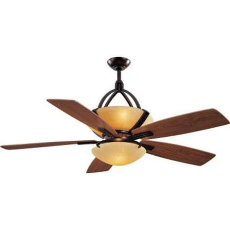 Hampton Bay Dual Ceiling Fan Hampton Bay Miramar 60 In Weathered Bronze Ceiling Fan