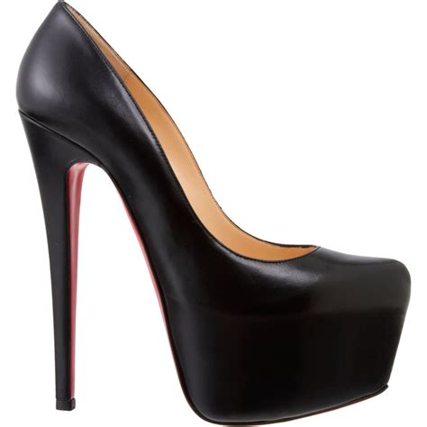 Christian Louboutin Platform Heels by Shoeniverse Designer Classics Christian Louboutin