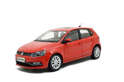 volkswagen polo 2014 vw volkswagen polo 2014 1 18 scale diecast model car
