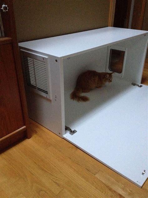 cat litter bench ikea hack hidden litter box for under 50 cat litter