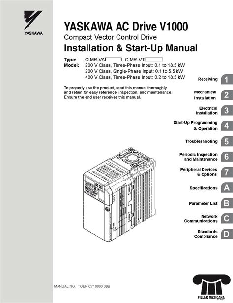 yaskawa a1000 wiring manual wiring diagram