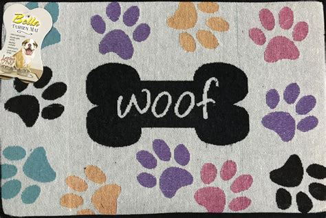 Woof Mat by Woof W Paws Fashion Mat Palm Distributing
