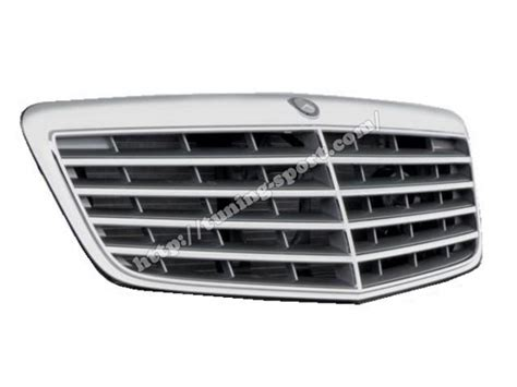 Grille Kap Motor Mercedes E Class W211 grill avangard for mercedes e class w211 06 gt 09 a2118801783