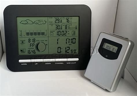 digital weather station wireless for home use lcd dual