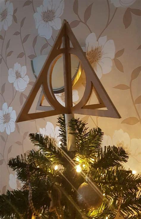 harry potter tree topper tree topper harry potter in 2019 harry potter weihnachten weihnachtsbaum