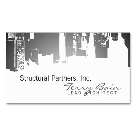 architects business card template 144 best images about architects business cards on