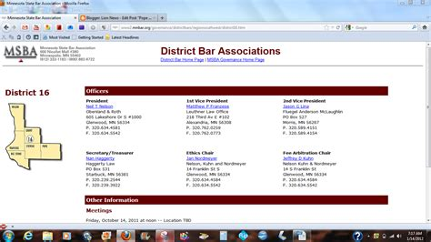 Mba Bar Association by News Pope County Mn S Crimes Covered Up By Glenwood