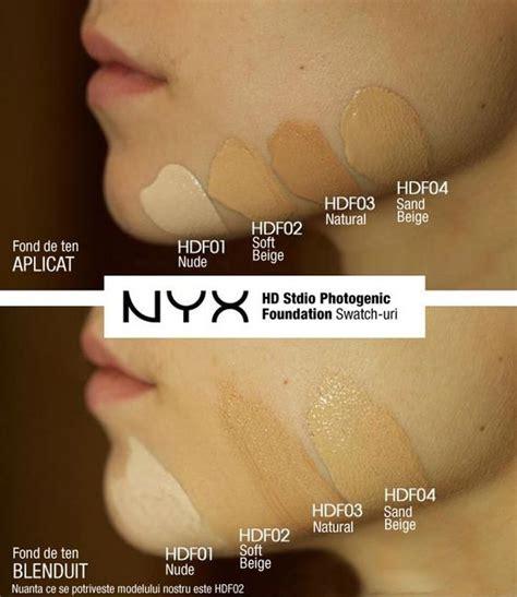 Nyx Hd Studio Photogenic Foundation fond de ten nyx hd studio photogenic foundation doar pe