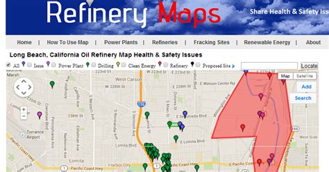 texas refineries map refinery maps why is seeping from ground in wilmington