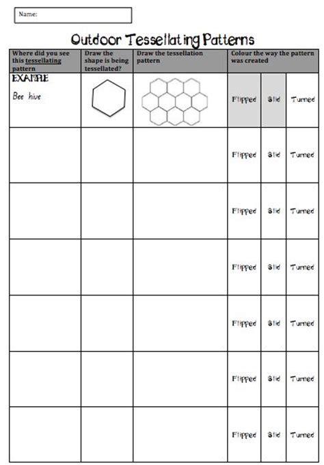 Patterns In Nature Worksheet | 32 best images about telsalation on pinterest coloring