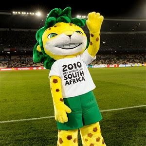 Zakumi, the 2010 FIFA World Cup South Africa™ official ... Fifa 2002 Mascot
