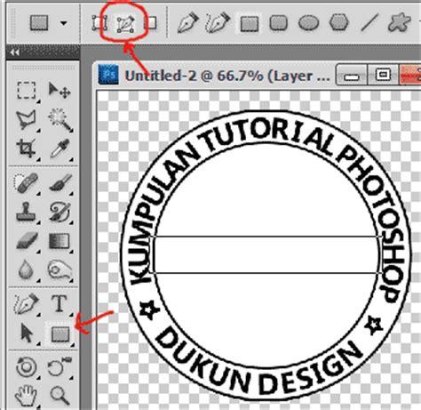 membuat logo lingkaran di photoshop blog gaul 06 22 14