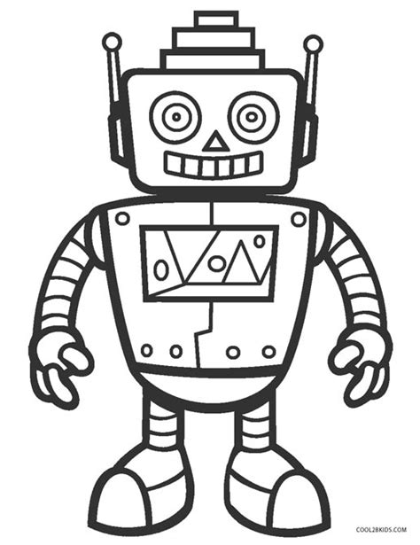 printable coloring pages robots free printable robot coloring pages for kids cool2bkids