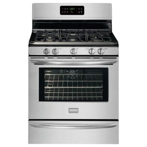 frigidaire gallery 30 in 5 0 cu ft gas range with self