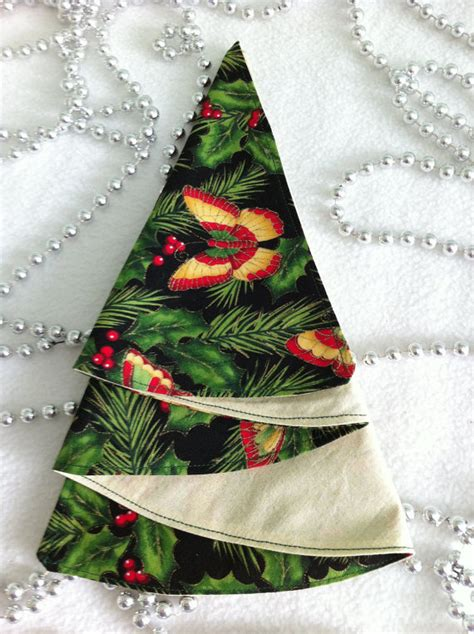 items similar to fabric christmas napkins christmas tree