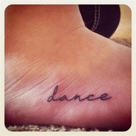 dance tattoo tattoos pinterest