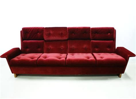deep red velvet sofa 17 best images about mid century on pinterest mid