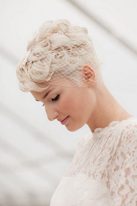 Braut Kurze Haare Schleier by Braut Kurze Haare Schleier