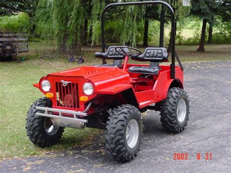 mini jeep utv need chassis ideas for my mini jeep utv trader side x