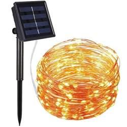 solar powered outdoor string lights best solar powered string lights ledwatcher