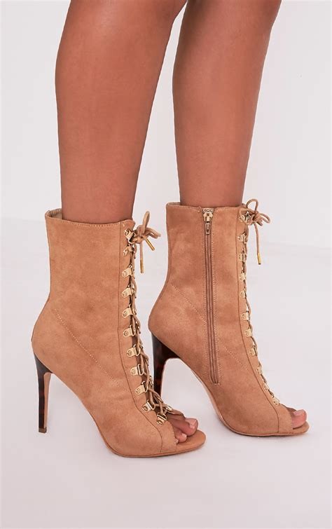 We All Like The Peep Toe But How Bout The Peep Toe Knuckle Introducing Givenchy Cutouts by S Boots Shop Cheap S Boots Prettylittlething
