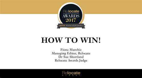 relocate awards 2017 tune in to our how to win podcast