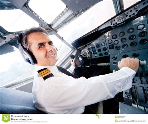 Flying With In Cabin by Pilot In An Airplane Cabin Stock Image Image 23629971