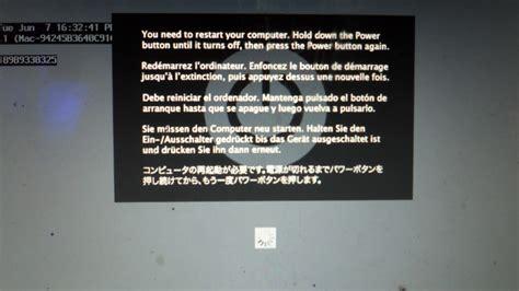 reset nvram macbook pro 2011 macbook pro kernal panic will not boot pics