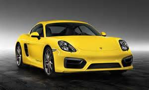 Yellow Porsche Cayman S Racing Yellow Porsche Cayman S