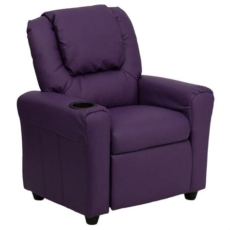 purple recliner chairs kids recliner in purple dg ult kid pur gg