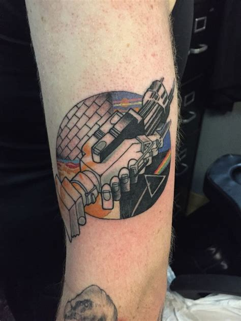 small pink floyd tattoo a pink floyd for the soon to be sleeve