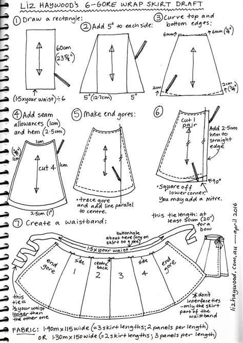 pattern wrapper free pattern wraparound skirt the craft of clothes