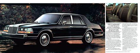 old car manuals online 1984 lincoln continental regenerative braking lincoln 1985