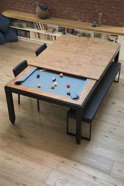 Kitchen Pool Table Metal Line Table By Fusiontables Saluc