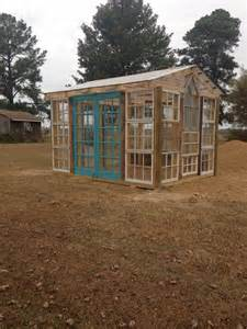 House Made Of Doors 10 Greenhouses Made From Windows And Doors Home