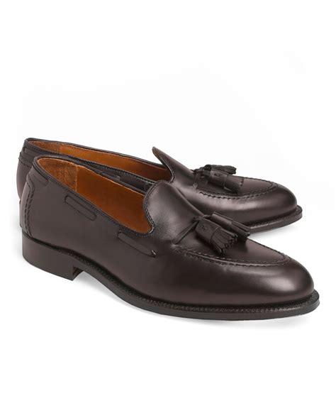 brothers loafers brothers calf tassel loafers in purple for