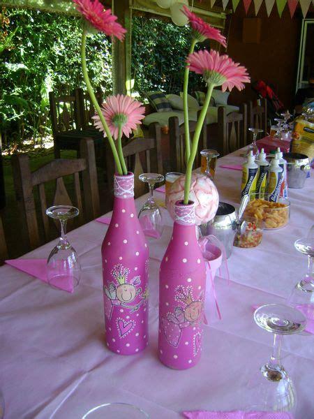 centro de mesa botella vestida 15 anos centros de mesa de 15 a 241 os con botellas imagui
