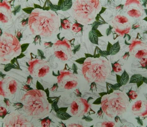 Patchwork Quilting Fabric - patchwork quilting fabric roses material sewing