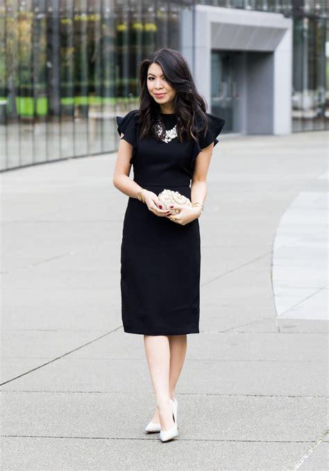 classic black dress   tina bit