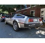Seattles Parked Cars 1981 DeLorean DMC 12