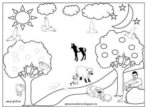 imagenes cristianas para niños para colorear iglesia mar abierto estudio b 237 blico para ni 241 os quot la creaci 243 n quot