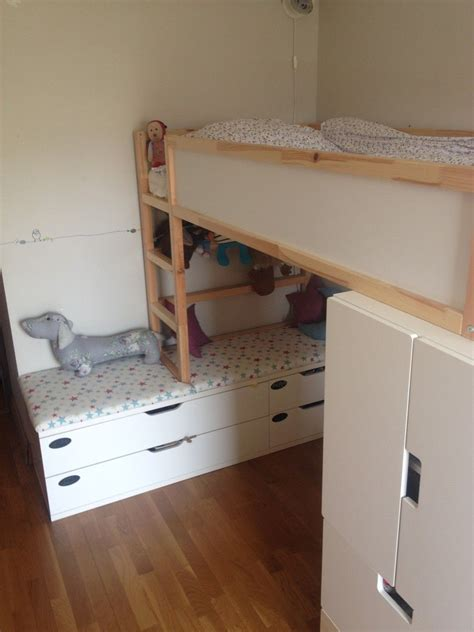 ikea loft bed hacks kid friendly diys featuring the ikea kura bed